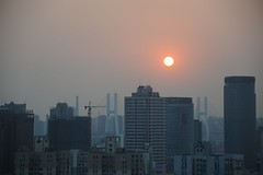 CHINA (gabrielebettelli56) Tags: asia china shanghai buildings sun nikon travel viaggi