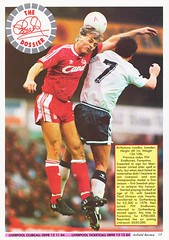 Liverpool vs Blackburn Rovers - 1991 - Page 17 (The Sky Strikers) Tags: liverpool blackburn rovers fa cup road to wembley the anfield review one pound