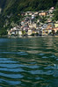 boat tour in Lugano (moniq84) Tags: boat tour lugano gandria descovery water lake green waves palaces buildings church town village switzerland end summer colors