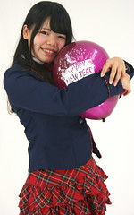 Embrace 2019's Possibilities! (emotiroi auranaut) Tags: student girl teenager pretty teen charming smile smiling hug embrace purple toy balloon happynewyear