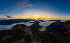 Über den Wolken (F!o) Tags: tegernsee tegernseerhütte rosstein buchstein ros und bayern bavaria alps wolken clouds sky sunset sunrise sonnenuntergang sonnenaufgang alpen berge mountains hiking drone drohne