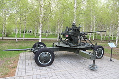 37 mm automatic air defense gun M1939 (61-K) (Ray Cunningham) Tags: öskemen kazakhstanpark 37 mm automatic air defense gun m1939 61k russian 37мм автоматическая зенитная пушка образца 1939 года 61к