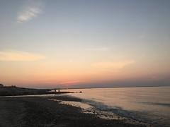 Sunset (hannaschmitz) Tags: capecod ma massachusetts sandwichma beach shore water sand sky nature