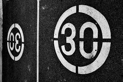 Thirty times symmetrical (jaume zamorano) Tags: blackandwhite blancoynegro blackwhite blackandwhitephotography blackandwhitephoto bw d5500 ground thirty symmetric lleida lines monochrome monocromo nikon noiretblanc nikonistas pov road street streetphotography streetphoto streetphotoblackandwhite streetphotograph urban urbana numbers