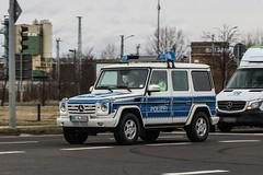 Germany Police (Brandenburg) - Mercedes-Benz G 350 CDI 2012 (PrincepsLS) Tags: germany german police license plate bbl brandenburg schönefeld spotting mercedesbenz g 350 cdi 2012