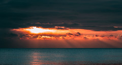 Winter sunrise (aleksej19890903) Tags: sunrise ukraine odesa nikon blacksea burningsky