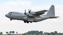 Austrian AF Lockheed C-130K Hercules 8T-CA (Hugh Dodson) Tags: departureday fairford riat2018 austrianaf lockheed c130k hercules 8tca