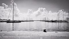 The Port (Francesco Impellizzeri) Tags: trapani sicilia italy canon monochrome black white landscape port
