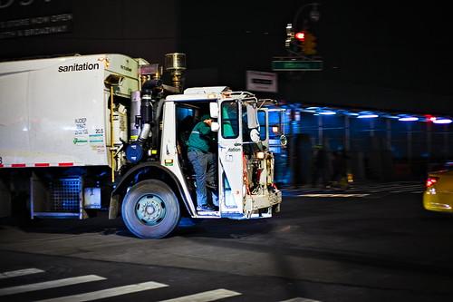 NYC Sanitation Garbage Truck
