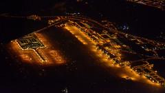 Barcelona Airport by night (M McBey) Tags: elprat barcelona airport night dark aircraft highiso nikon d7100 50mmf20ai