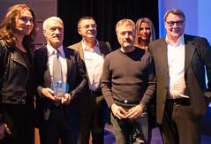 Sylvia di Pasquale, Didier Deschamps, Didier Pitelet, Bris Rocher, Raphaëlle Laubie et Philippe Wattier