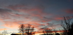 November 18, 2018 - Pastel colored sunset. (ThorntonWeather.com)