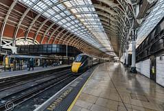 London Nov 2018 057-Edit (Mark Schofield @ JB Schofield) Tags: london paddington railway station rail train commute wrought iron arched burger king bar stall ticket turnstile