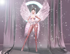 # 84 - Glory Angel - Virtual Diva Couture (gloria Gabe) Tags: virtualdiva gloriagabe fashionshow gloryangel tfa ncore littlebones wings fashionangels