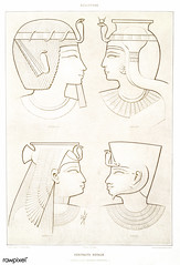 Portrait of King from Histoire de l'art égyptien (1878) by Émile Prisse d'Avennes (1807-1879). Digitally enhanced by rawpixel. (Free Public Domain Illustrations by rawpixel) Tags: otherkeywords anillustrationoftheegyptian ancestry ancient ancientegyptian ancientegyptianart androsphinx antique archaeological archeology art artwork cc0 design designing drawing dynasty egypt egyptian egyptiankingdom egyptology empire gods handdrawn histoiredelartégyptien historical history illustration king kingdom kingsofegypt mythology old oldfashioned outlines outlinesfromtheantique pattern pharao pharaoh portrait psd romans sculpture sepia sketch story traditional vintage émileprissedavennes
