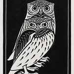 Two owls (1921) by Julie de Graag (1877-1924). Original from The Rijksmuseum. Digitally enhanced by rawpixel. thumbnail