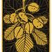 Chestnut branch (1919) by JJulie de Graag (1877-1924). Original from The Rijksmuseum. Digitally enhanced by rawpixel.