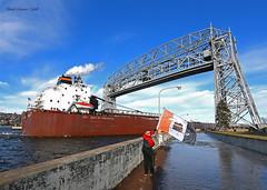 Paul R Tregurtha (gus3221) Tags: paulrtregurtha flag merc coal interlake ship duluth