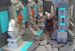 Dwarven Hall 1 (LegoHobbitFan) Tags: lego moc creation build model ccc xvi colossal castle contest medieval fantasy dwarf dwarves hall