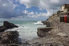 Mareggiata a Mulinetti (Silvano Romairone) Tags: ricoh pentax pentaxk3 mulinetti recco riviera
