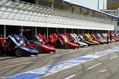 Ferrari FXXK Armada (aguswiss1) Tags: supercar ferrarifxx racecar flickrcar dreamcar amazingcar v12 carlover exoticcar ferrarifxxk auto carspotting sportscar fastcar ferrari flickr car carswithoutlimits carporn