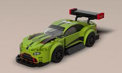 Aston Martin Vantage 2018 (k_lego_r) Tags: lego legoart rendering render race racer racecar racing c4d cinema4d car champion vehicle moc minifigures minifigure minifigur auto aston astonmartin vantage dtm legocar sportcar sportscar modelcar afol legomoc