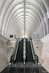 Luik, Station Liège-Guillemins. (What's Around) Tags: stationliègeguillemins luik station 1750mm binnenzicht