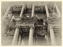 2289aSE  Memories of..... (foxxyg2) Tags: mono monochrome niksoftware silverefex ephesus turkey history antiquities empires derelect greekempire 10cbc