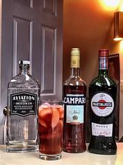 2019 026/365 Negroni (_BuBBy_) Tags: 2019 slice orange rossi vermouth sweet campari gin aviation 026365 365 026 negroni