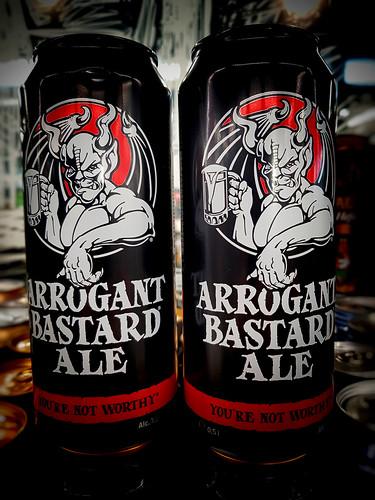 arrogant bastard ale ©  Sergei F