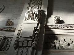 Milano Centale (Toni Kaarttinen) Tags: italy italia italie italien italio lombardia milan milano centrale station railwaystation statues topless chest