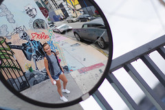 Winwood (Den photographer) Tags: miami miamibeach graffiti winwood twix portrait white woman beauty princess