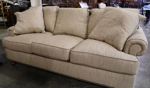 H240A Drexel Heritage upholstered sofa ($448)