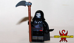 Reaper of Black Friday... (Saber-Scorpion) Tags: lego minifig minifigures moc brickarms blackfriday reaper grim