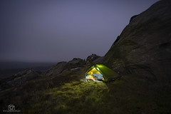And then the clag closed in .... (CamraMan.) Tags: christianburycrags wildcamp wildcamping hillebergakto trangia clag mist crags bewcastlefells light atmosphere evening sonya7 fotodiox canon1740mmlusm