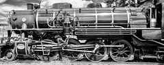 Steam train number 221A class AC16 profile (Lance CASTLE) Tags: detail focus trainphotography profile ac16 rail railwayphotography train steam engine boiler wheels australiantrains australianrailways queenslandsteamtrain australiansteamtrain