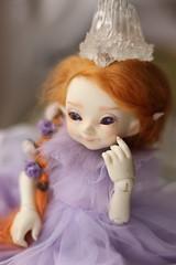 Winter princess (Nymrah) Tags: bjd fairyland realfee pukifee pupu