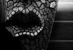 Mask (JsVictor) Tags: blackwhite mask african