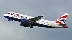 G-EUPA (AnDyMHoLdEn) Tags: britishairways oneworld a319 egcc airport manchester manchesterairport 23r