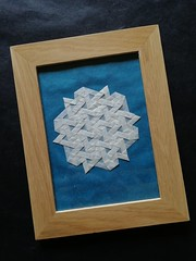 Star Twist Tess (F. Wei) (Helyades) Tags: star twist tessellation pavage origami wei ioio ioio2018 pli pliage fold hexagon papier paper geometrie geometry
