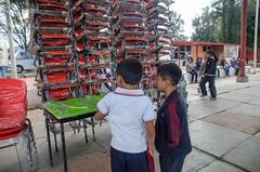 """Entrega IEEPO mobiliario escolar al Internado """"General de División Ignacio Mejía"""""""