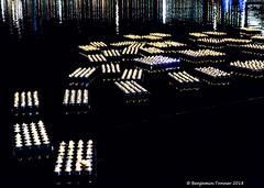 Lake of lights (frattonparker) Tags: btonner lightroom6 nikkor50mmf14 nikond810 prime raw solent winter frattonparker southsea lights reflections charity