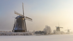 Today it's Winter (Wim Boon Fotografie) Tags: wimboon winter kinderdijk unescoworldheritage holland nederland netherlands windmill molen canon7d canonef1740mmf4lusm