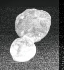 (486958) 2014 MU₆₉ or Ultima Thule, variant (sjrankin) Tags: 3january2019 edited newhorizons ultimathule asteroid contactbinary 4869582014mu₆₉ 4869582014mu69 grayscale primage