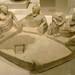 Cypriot banquet Archaic period 6th century BCE Limestone