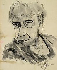 "Marion (""Jimmer"" ( http://jim-vance.pixels.com )) Tags: portrait face jkpp drawing"