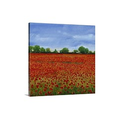 Field Of Poppies I Wall Art-Canvas Gallery Wrap - Contemporary Painting Of a field Of red Poppies Under a blue Sky.   Check out our website: https://spaceplug.com/field-of-poppies-i-wall-art-canvas-gallery-wrap.html . . . . #spaceplug #art #wallart #bigca (spaceplug) Tags: gift love shop buy happy bluesky like4like amazing sky art canvas flowers marketplace spaceplug like sell gallerywrap wallart customproducts redpoppies nice bigcanvas followus field poppies style follow4follow