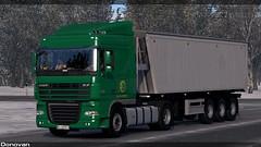 (Sergey Donovan) Tags: daf xf105 truck trailer