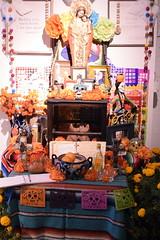 _DSC0314 (alnbbates) Tags: november2018 dayofthedead livingartsoftulsa tulsa oklahoma altars ofrendas altar ofrenda