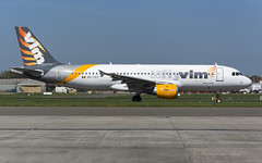 HQ_TCW_A320_flyVLM_BRU_APR-2018 (Yannick VP - thank you for 1Mio views supporters!!) Tags: civil commercial passenger pax transport aircraft airplane aeroplane jet jetliner airliner hq tcw vlm airlines airbus a320 320200 ootct brussels airport bru ebbr belgium be europe eu april 2018 airside platform taxi taxiway twy outers out aviation photography planespotting airplanespotting